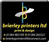 Brierley printers Internet Advert